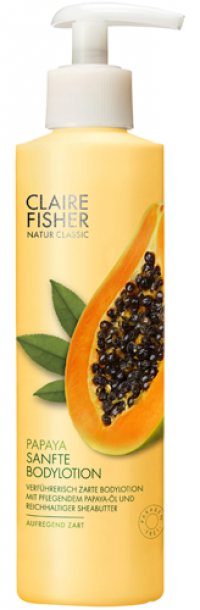 CLAIRE FISHER Nat.Classic Papaya Bodylotion