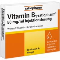 VITAMIN B1-RATIOPHARM 50 mg/ml Inj.Lsg.Ampullen