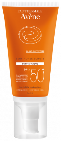AVENE SunSitive Sonnencreme SPF 50+ o.Duftst.