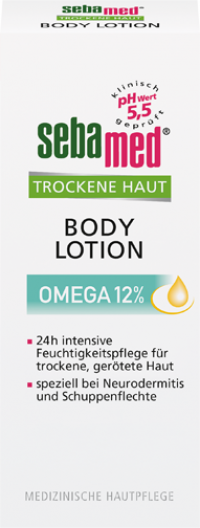 SEBAMED Trockene Haut Omega 12% Bodylotion