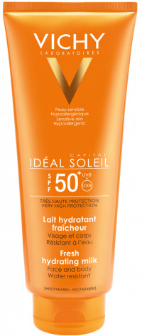 VICHY CAPITAL Soleil Sonnenmilch Familie LSF 50+