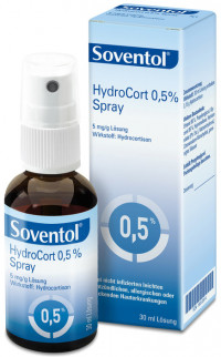 SOVENTOL Hydrocort 0,5% Spray
