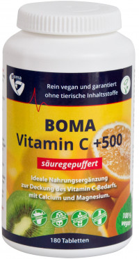 SÄUREGEPUFFERTES Vitamin C+500 Tabletten