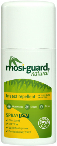 MOSI GUARD Natural Insect Repellent Extra 10 Std.
