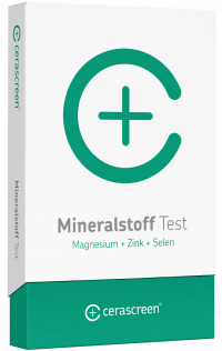 CERASCREEN Mineralstoff-Analyse Test