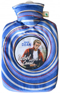 WÄRMFLASCHE Klassik 1,8 l Nickib.Movie James Dean
