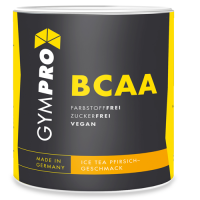 GYMPRO BCAA Powder Ice Tea Pfirsich
