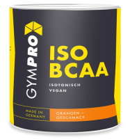GYMPRO ISO BCAA Pulver orange