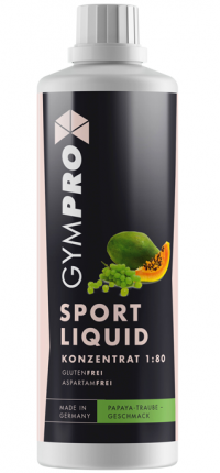 GYMPRO Sport Liquid Papaya-Traube