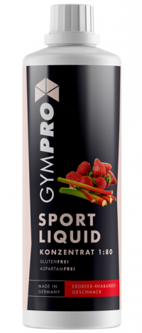 GYMPRO Sport Liquid strawberry-rhubarb