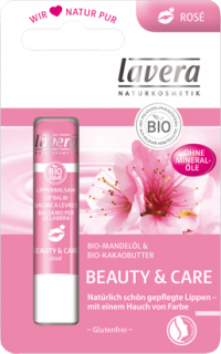 LAVERA Lippenbalsam beauty & care rose