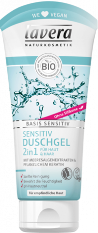 LAVERA basis sensitiv 2in1 Duschgel dt TB