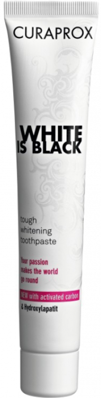 CURAPROX White is Black Kohlezahnpasta