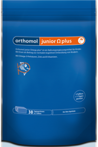 ORTHOMOL Junior Omega plus Kaudragees