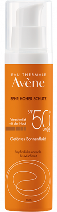 AVENE SunSitive Sonnenfluid SPF 50+ getönt
